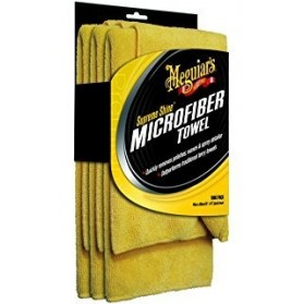 Supreme Shine Microfiber Towel - (3 Pack)